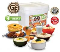 Relief Foods 3-Week Gluten Friendly Emergency Food Supply - 100 Serving, Entrée & Breakfast Bucket