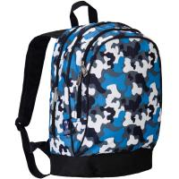 Olive Kids Blue Camo Sidekick Backpack