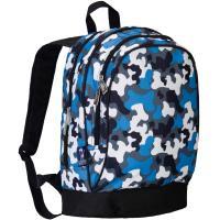 Olive Kids Blue Camo Sidekick Backpack