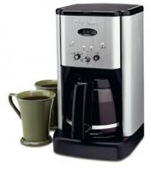 Cuisinart Brew Central 12-Cup Programmable Coffeemaker, Black/Stainless
