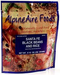 Alpine Aire Santa Fe Black Beans with Rice
