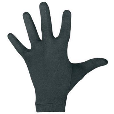 Terramar Silk/spandex Glove Liner, Small, Black