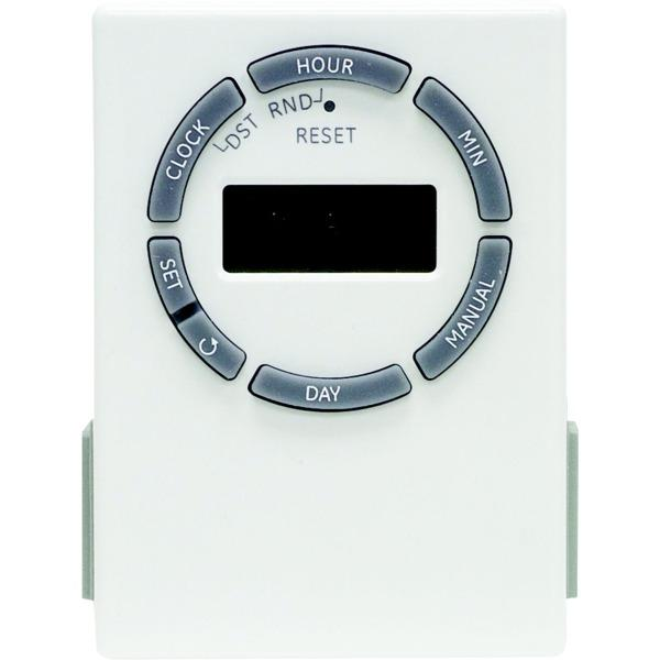 Ge 15079 7-day Digital 2-outlet Timer