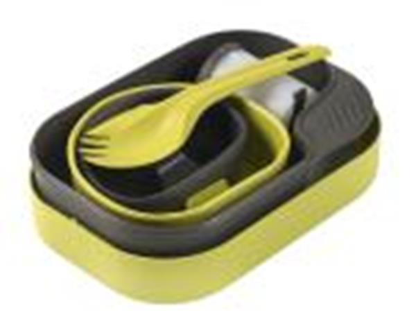 Wildo Wildo Camp-A-Box W/Spork, Lime