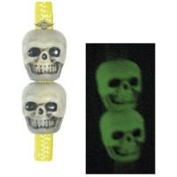 5ive Star Gear SKULL BEADS, ANTIQUE NITE GLOW 50 Pack