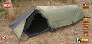 Solo Backpacking Tents by SnugPak