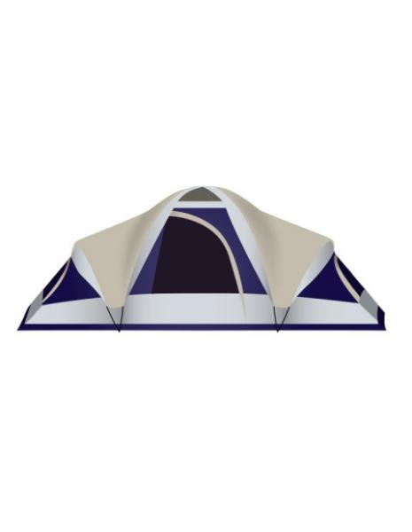 Stansport Grand 18 Family Tent -  3 Room