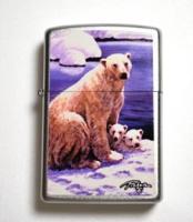 Zippo Linda Picken Polar Bear Limited Edition Lighter