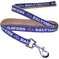 Baltimore Ravens NFL Dog Leash - Medium