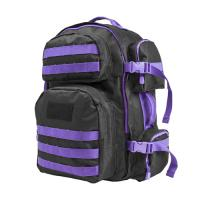 Vism Tactical Backpack-Blk w/Purple
