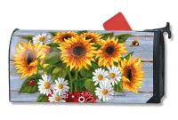 Magnet Works Bandana Sunflowers Mailwrap
