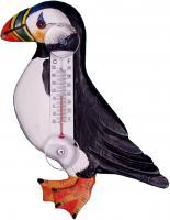 Songbird Essentials Puffin in Profile Small Window Thermometer