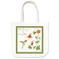 Alice's Cottage Hummingbird Large Tote
