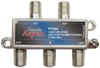 Eagle Aspen P7004 4-way 2600 Mhz Splitter (1-port Passing)