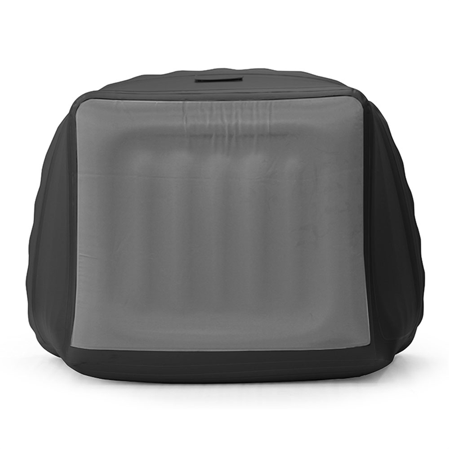 Smart Air Beds Inflatable Chesterfield Chair Black