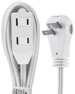 Ge 6-ft Wall Hugger Extension Cord