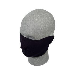 Half Neoprene Face Mask, Black