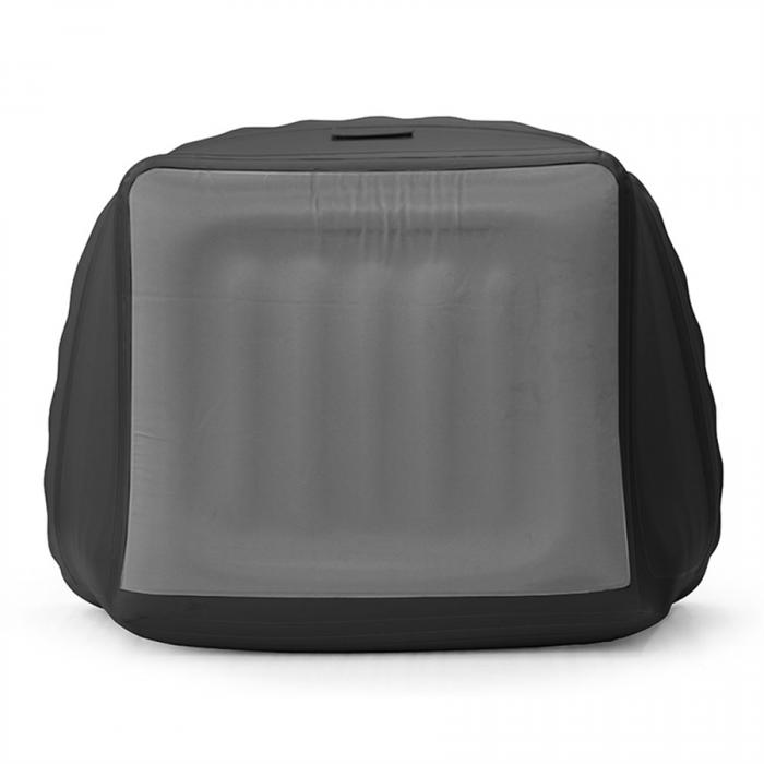 Smart Air Beds Inflatable Chesterfield Chair, Black (SUMO000025CB)