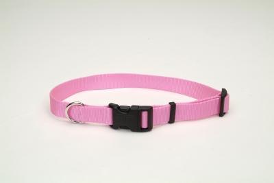 "Coastal Pet Products 6601 Tuff Nylon Adjustable Collar - 3/4"", Pink"