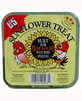 C & S Products Sunflower Treat  Suet - 11 Ounce Package