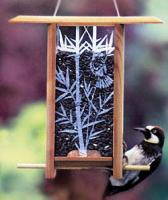 Schrodt Bamboo Grove Teahouse Bird Feeder