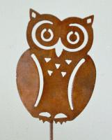 Elegant Garden Design Owl Pick (set of 3)
