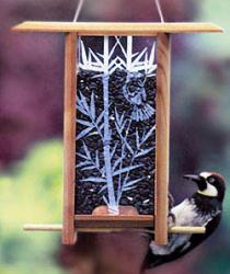 Schrodt Bamboo Grove Teahouse Bird Feeder
