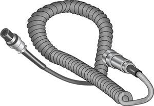 Cobra AC702 4-ft Coiled Extension for CBR75WXST