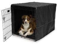 "Mid-West Pet Crate Cover, 42"" - Black"