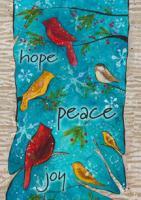 Toland Peace Birds Garden Flag
