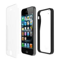 Iluv ICA7H328BLK Two-part, dual protection case for iPhone 5 - Black