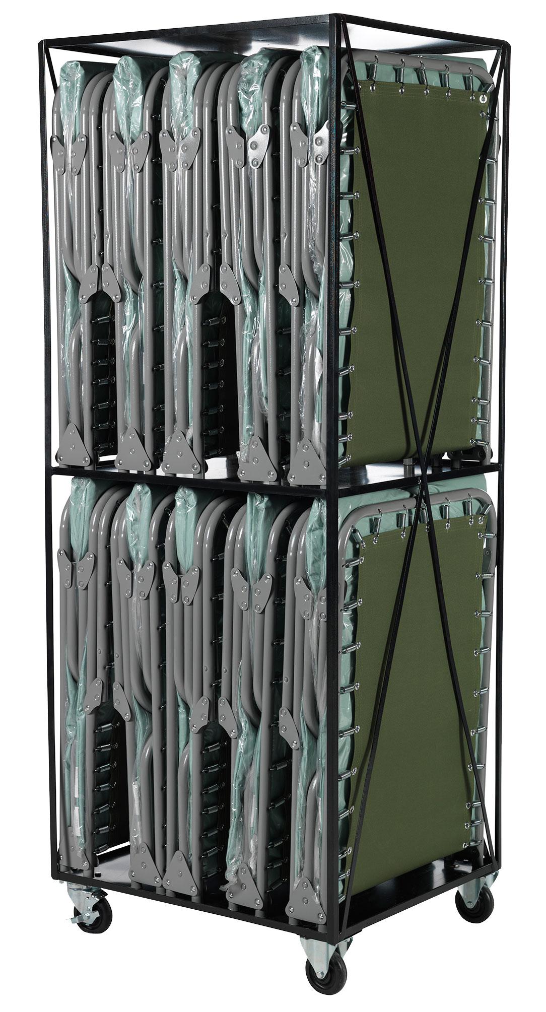Blantex XM-3 Heavy Duty Steel Special Needs Cot with Vinyl Mat