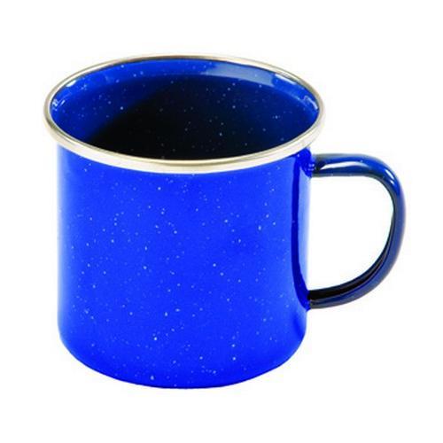 Texsport Cup, Enamel 12 oz. Stainless Steel Rim