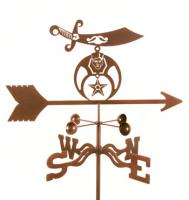 EZ Vane Shriners Logo Weathervane