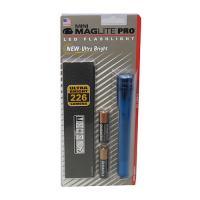 Mini MagLite LED 2 Cell AA Pro, Blue