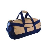 Stansport Two Tone Canvas Duffle Bag With Zipper