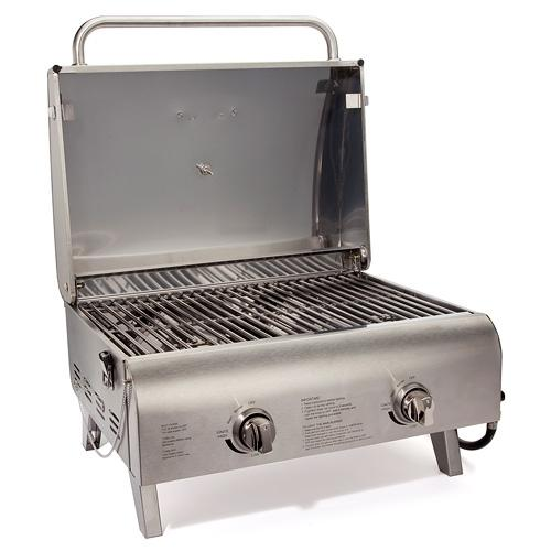 Cuisinart Chefs Style Stainless Tabletop Gas Grill
