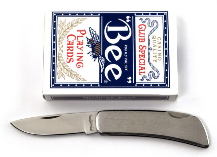 HallMark Stainless Steel Lockback Pocket Knife