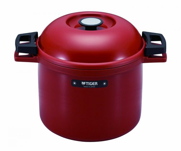 Tiger Nfhg450Rj Red Thermal Magic Cooker, 4.5 L