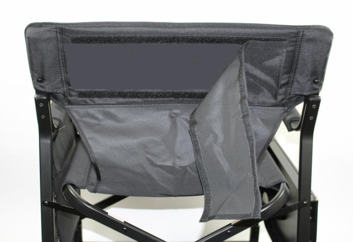 Tall Professional Executive Director Chair With Side Table And Side Bag