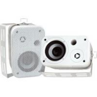 "Pyle PDWR30W 3.5"" Indoor/Outdoor Waterproof Speakers (White)"