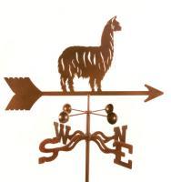 EZ Vane Alpaca Llama Weathervane