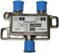 Channel Plus 2512 DC/IR PassingSplitter/Combiners (2-way)