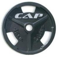 Cap Barbell 300 Pound Olympic Grip Weight Set