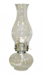 Lamplight Ellipse Oil Lamp - Clear