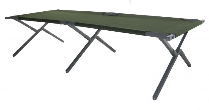 "Blantex 28""x77"" Steel Army Cot with Carrying Bag"