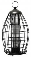 Heath Brass Squirrel Proof Nut and Seed Caged Bird Feeder