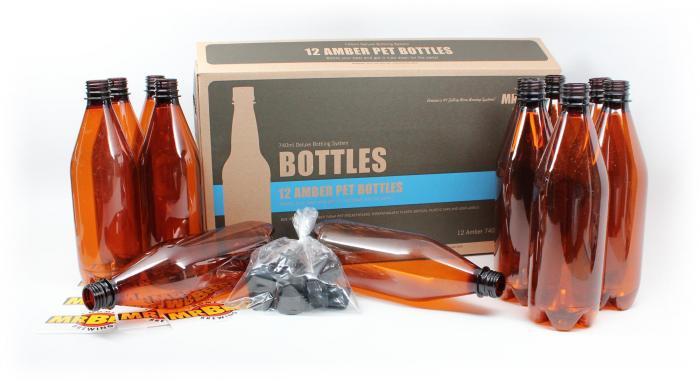 Mr. Beer Deluxe Bottling System 12 / 740 ML bottles