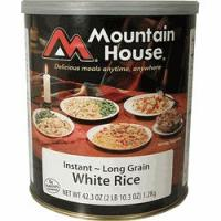 Mountain House Instant White Rice - 24 3/4 Cup Servings