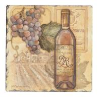 Counter Art Vineyards Tumbled Tile Coasters Set of 4